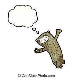 考え泡, 漫画, 熊