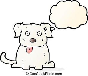 考え泡, 漫画, 犬