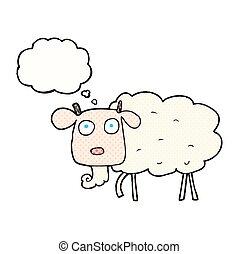 考え泡, 漫画, goat