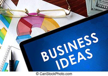 考え, ビジネス