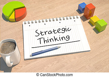 考え, 戦略上である