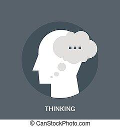 考え, 概念, アイコン