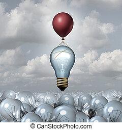 考え, 概念, 革新的