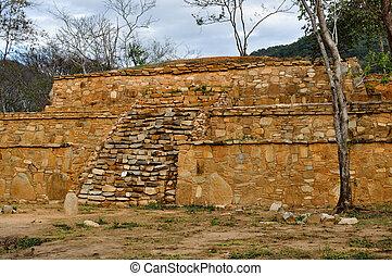考古学のサイト, acapulco, メキシコ\