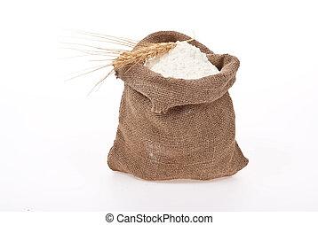 耳, 小麦, そっくりそのまま, 小麦粉