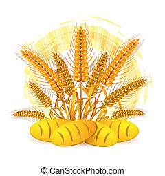 耳, 小麦