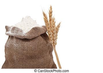 耳, 小麦, 小麦粉