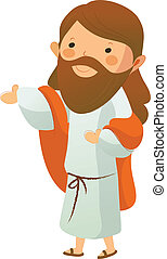 耶穌基督, 側視圖
