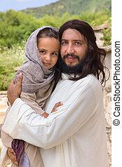耶穌, 愛, 很少, 孩子