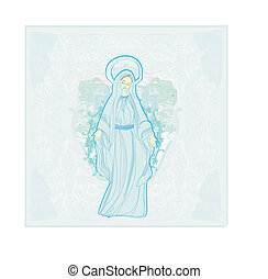 聖女瑪麗亞, 有福