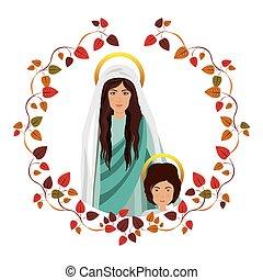 聖女瑪麗亞, 神圣