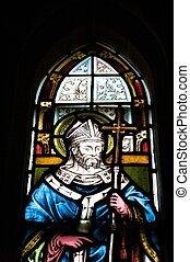 聖徒, 上, glasswork
