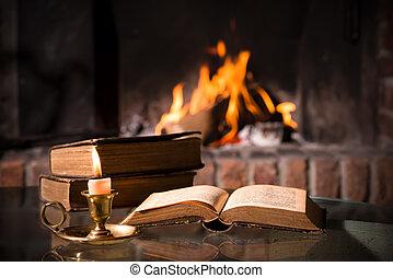聖書, ∥で∥, a, 燃焼, ろうそく