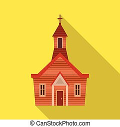 聖書, キリスト教徒, illustration., オブジェクト, 隔離された, コレクション, シンボル。, ベクトル, 教会, 株