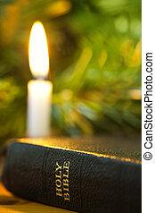 聖書, クリスマス, ろうそく