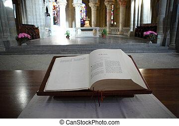聖書, 中に, 教会