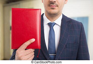 聖書, 匿名, 牧師, 赤, 保有物