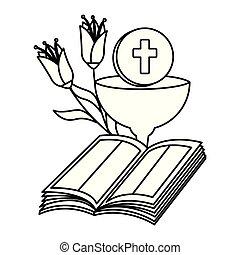 聖杯, 花, 聖書, 神聖