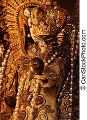 聖母マリア, そして, イエス・キリスト