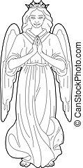 聖母マリア, 図画