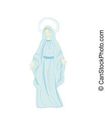 聖母マリア, 祝福された