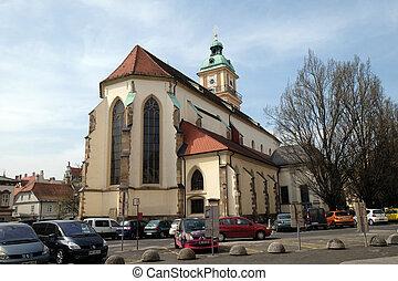 聖者, slomsek, バプテスト, maribor, スロベニア, ジョン, 広場, 大聖堂