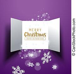 聖誕節, 來臨日歷, 門