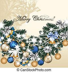 聖誕節, 卡片, 問候