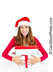 聖誕節, 婦女藏品, 她, 禮物盒