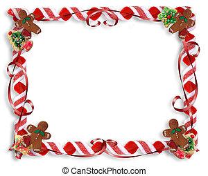 聖誕節, 對待, 邊框