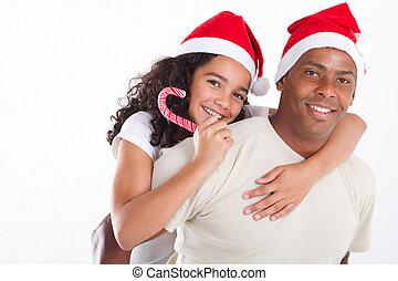聖誕節, 父親, 運載, 女儿
