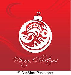 聖誕節, 紅色