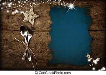 聖誕節, 菜單, 背景