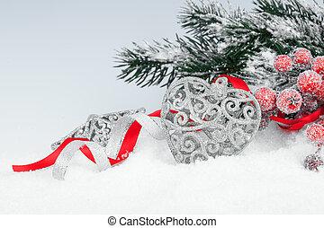 聖誕節, 裝飾, 由于, 模仿空間