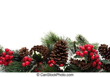 聖誕節, 邊框