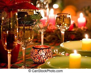 聖誕節, 餐具
