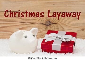 聖誕節, layaway