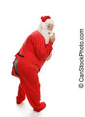 聖誕老人, 在, 睡衣, -, ooops!
