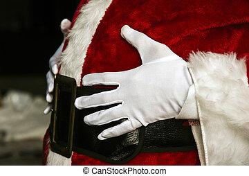 聖誕老人, 在, 聖誕節