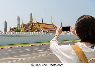 聰明, 電話, 照像機, 拍照片, 圖片