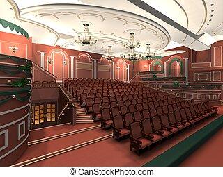 聴衆, 贅沢, ホール