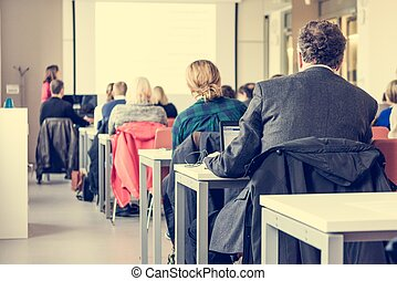 聴衆, conference., ビジネス