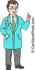 聴診器, 医者