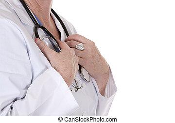 聴診器, 手を持つ