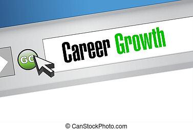 職業, 成長, 網站, 簽署, 概念