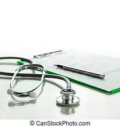 聽診器, 由于, 醫學, 剪貼板