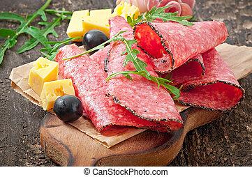 肉, 前菜