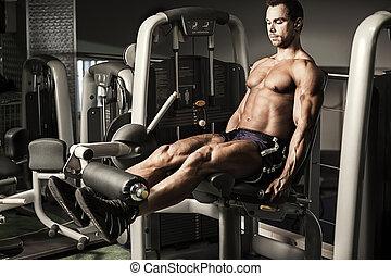 肌肉, 人行使
