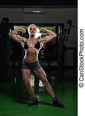 肌肉, 婦女, 屈曲肌肉
