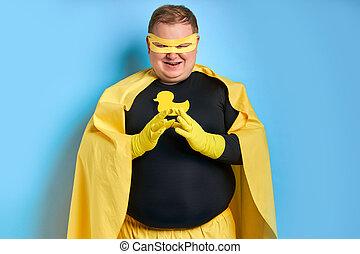 肖像画, こうかつ, 隔離された, superhero